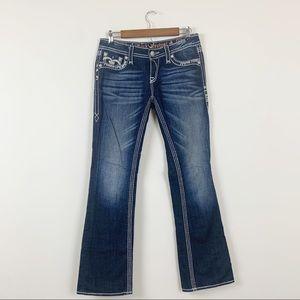 Rock Revival Jena Boot Cut Stretch Jeans 28